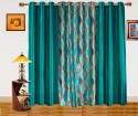 Dekor World Illusion Waves Window Curtain - Pack Of 3 - CRNDZHYMFBTEFYYW