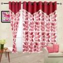 Cortina Flora Door Curtain - Pack Of 2 - CRNDYTKJJZCQR62X