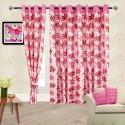 Cortina Flora Door Curtain - Pack Of 2 - CRNDYTKJFMH3QNHZ