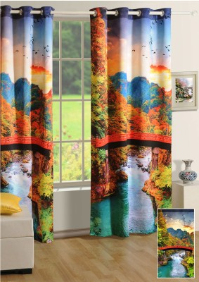 Swayam Digitally Printed Cosmo Fashion Window Curtain - CRNDUH4AGM3G5MFV
