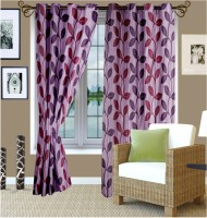 Story @ Home 100% Polyester Door Curtain (Pack Of 2, 213.36 Inch In Height) - CRNEFVKXVB3S6RQH