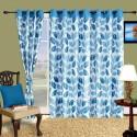 Cortina Flora Door Curtain - Pack Of 2 - CRNDYTKJJ7EJHGQE