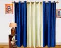 Dekor World Dot Door Curtain - Pack Of 3
