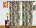 Dekor World Sprial Door Curtain - Pack Of 2