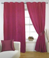 Fabutex 100% Polyester Door Curtain (Pack Of 1, 82 Inch/210 Cm In Height)