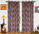 Dekor World Waves In The Air Door Curtain - Pack Of 2 - CRNDXM38U4R8TDRR