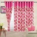 Cortina Flora Door Curtain - Pack Of 2 - CRNDYTKJHNG2HGMP
