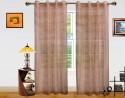 Dekor World Stripe Sheer Door Sheer Curtain - CRNDSWGC2BSG8GUG