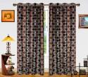 Dekor World Circle Bonanza Door Curtain - Pack Of 2 - CRNDXM38CGXJUMHF