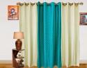 Dekor World Dot Window Curtain - Pack Of 3