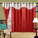 Cortina Plain Drape Door Curtain - Pack Of 2 - CRNDXV33ZCYTFXXW