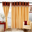 Cortina Fancy Crush Window Curtain - CRNDW2PZRNBZGMSF