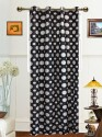 Dekor World Polka Dot Long Door Curtain