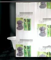 Tjar PVC Shower Curtain (170 Cm In Height, Single Curtain, Multicolor) - CRNE6FFFXAFDQYFG
