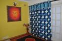 Shamrock Scallop Door Curtain - Pack Of 2