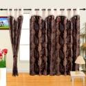 Cortina Flora Door Curtain - Pack Of 2