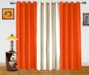 Dekor World Enticing Plain Door Curtain - CRNDQAY6JTBYU6EF