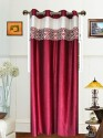 Dekor World Batik Jacquard Door Curtain