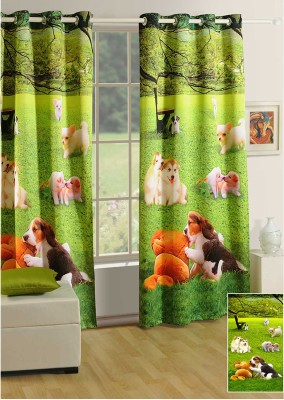 Swayam Digitally Printed Cosmo Fashion Door Curtain