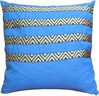 Aalidhra Techtex Shades Of Rainbow Self Design Cushions Cover (Blue)