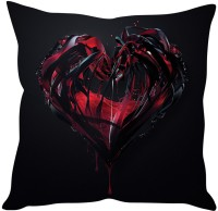 StyBuzz Blood In Heart Printed Cushions Cover (40 Cm*40 Cm, Multicolor)