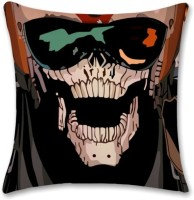 Shoprock Skull With Glasses Abstract Cushions Cover (Cushion Pillow Cover, 40.64*40.64)