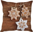 StyBuzz Christmas Cookie Treats Cushions Cover - Pack Of 1