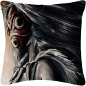 Amore Princess Mononoke Cushions Cover - Pack Of 1