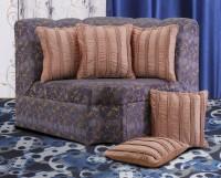 Dekor World Striped Cushions Cover (Pack Of 5, 40 Cm*40 Cm, Peach)