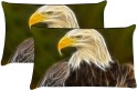 MeSleep Shades Of Egale Pillows Cover - Pack Of 2