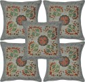 Lal Haveli Handmade Embroidered Cushions Cover - Pack Of 5 - CPCDY49AU32BH5KB