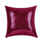 "SEJ By Nisha Gupta Rich Single Color Sequin 16"" By 16"" Cushion Cover. Cushions Cover - Pack Of 1"