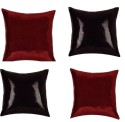 "SEJ By Nisha Gupta Rich Single Color Sequin 16"" By 16"" Cushion Cover. Cushions Cover - Pack Of 4 - CPCDYVZ55GBX2KMZ"