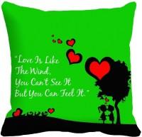 MeSleep Heart Digitally Printed Cushions Cover (Pack Of 1)
