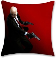 Shoprock Hitman Abstract Cushions Cover (Cushion Pillow Cover, 40.64*40.64)