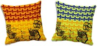 MeSleep Abstract Cushions Cover (Pack Of 2, 50.8 Cm*50.8 Cm, Multicolor)