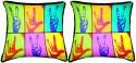 Belkado Digital Print - Pair Of Hands Cushions Cover - Pack Of 2