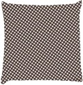 Snoogg Chequered Pattern Design 1716 Throw Pillows 16 X 16 Inch Cushions Cover - Pack Of 1