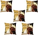 StyBuzz Girl At The Window Cushions Cover - Pack Of 5