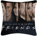 Amore Decor Friends Cushions Cover - Pack Of 1