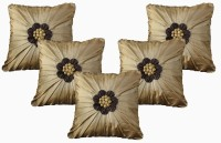 Dekor World Floral Bonanza Cushions Cover (Pack Of 5)