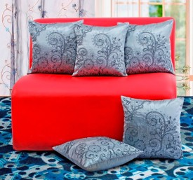 Dekor World Embroidered Cushions Cover