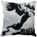 StyBuzz Smoke Girl Cushion Cushions Cover - CPCDWR74SBQMYBN6
