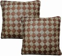 Dekor World Graceful Sequence World Cushions Cover - Pack Of 2