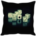 StyBuzz Rolling Dice Apple Cushion Cover Cushions Cover - Pack Of 1