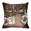 MeSleep Scrabble Digitally Printed Cushions Cover - Pack Of 1