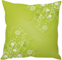 StyBuzz Green Abstract Art (12x12) Cushions Cover (Pack Of 1)