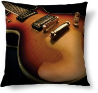 Amy Guitar Musical Instruments Abstract Cushions Cover (40.64 Cm*40.64 Cm, Multicolor)
