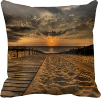 Tiedribbons Blazing Sun Printed Cushions Cover (40 Cm*40 Cm, Multicolor)