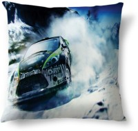 Amy Dirt High Speed Abstract Cushions Cover (40.64 Cm*40.64 Cm, Multicolor)